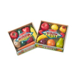 Melissa & Doug Kids' Combo Fruit & Veggies Set