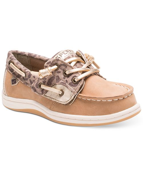 cff59840cb0 Sperry Cheetah Songfish Jr. Boat Shoes