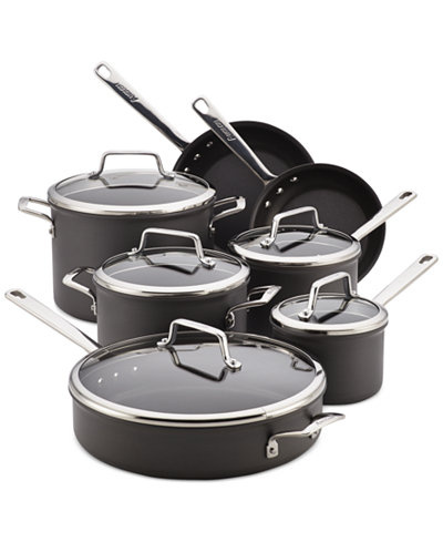 Anolon Authority Hard-Anodized 12-Pc. Cookware Set