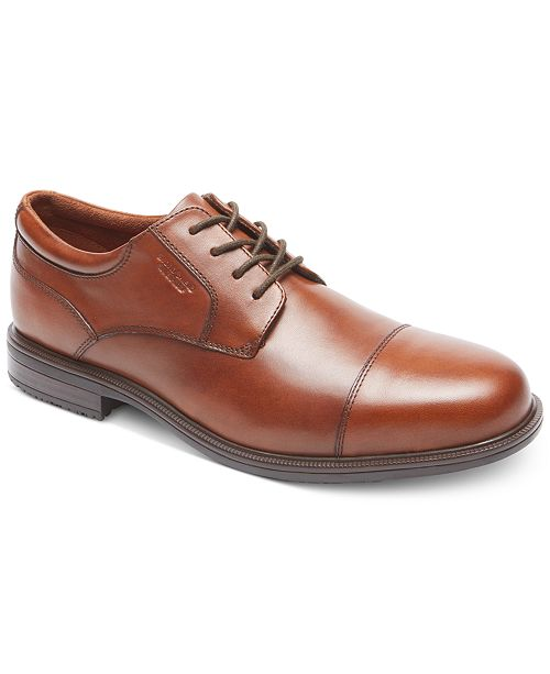 Rockport Men's Essential Details Ii Cap Toe Waterproof Oxford Men's Shoes fLk4hrv
