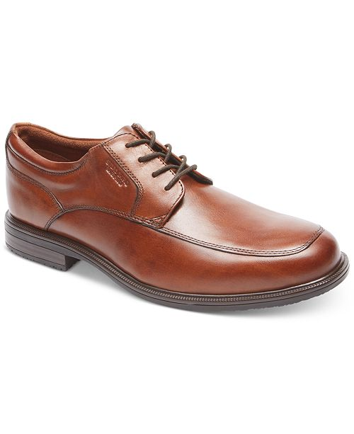 Rockport Men's Essential Details Ii Apron Toe Waterproof Oxford Men's Shoes C0Un5kLV