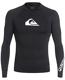 Quiksilver Men's All Time Long-Sleeve Rash Guard
