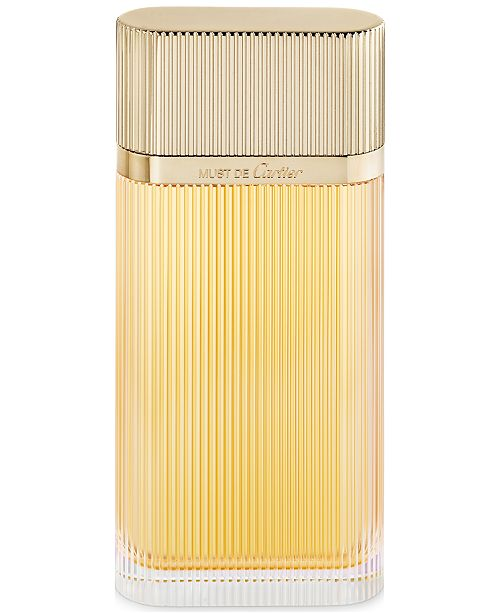 Must de Cartier Gold Eau de Parfum Spray, 3.3 oz.