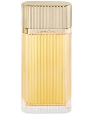 Cartier Must de Cartier Gold Eau de Parfum Spray, 3.3 oz.