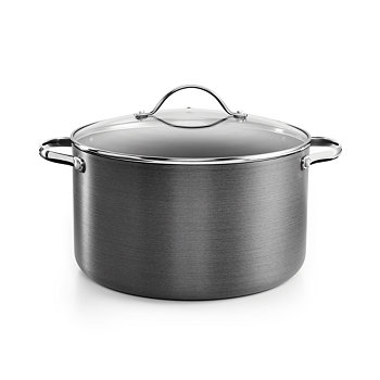 Tools of the Trade Hard-Anodized 8-Qt. Casserole with Lid