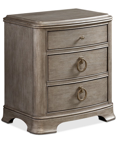 Kelly Ripa Home Hayley Bedroom 3 Drawer Nightstand - Furniture ...