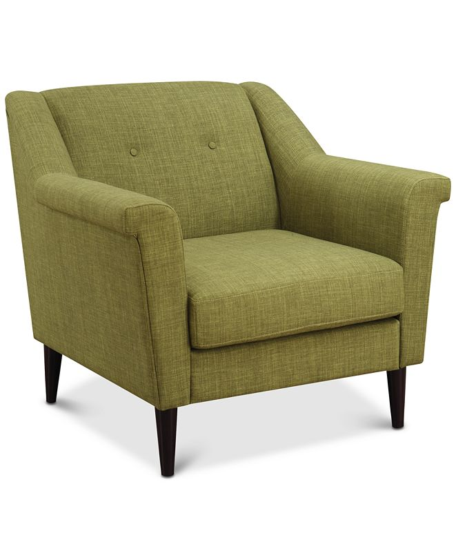 Furniture Parca Accent Chair, Quick Ship