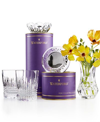 Waterford Purple Giftology Collection