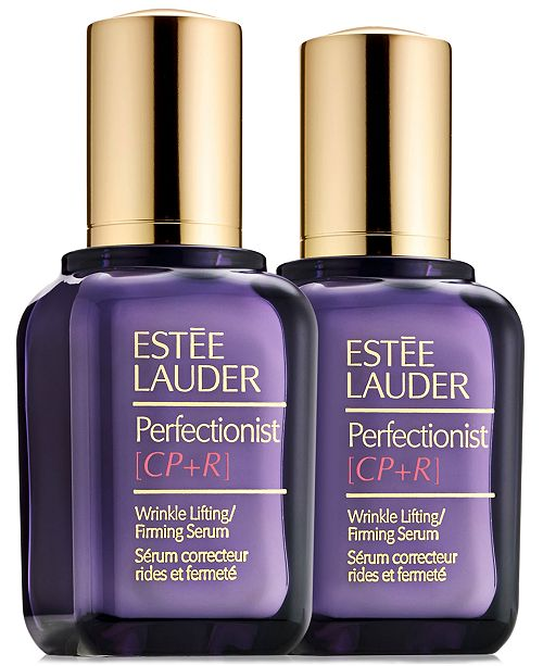 Estee Lauder Perfectionist [CP+R] Wrinkle Lifting/Firming Serum Duo, 3.4 oz.