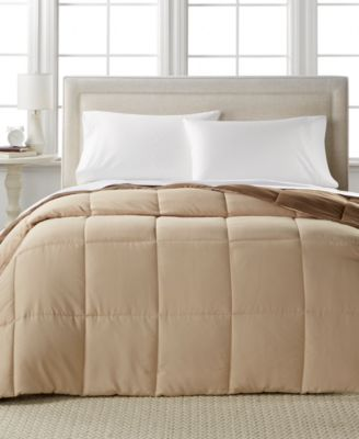 Home Design Down Alternative Color Full/Queen Comforter, Hypoallergenic,  Created For Macyu0027s