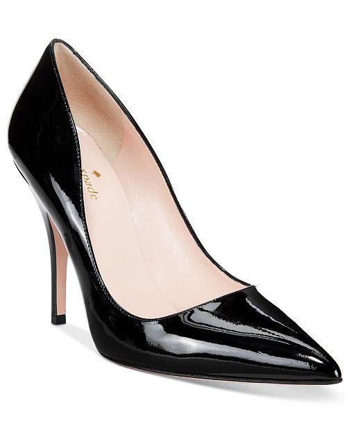 09a9f88e0a8f kate spade new york Licorice Pumps   Reviews - Pumps - Shoes ...
