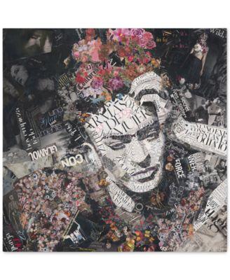 """'Armas de Mujer' Canvas Print by Ines Kouidis 18"""" x 18"""""""