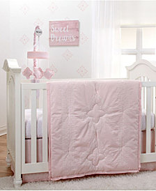 NoJo Chantilly 4 Piece Crib Bedding Set