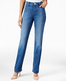 Lee Platinum Gwen Straight-Leg Jeans, Created for Macy's