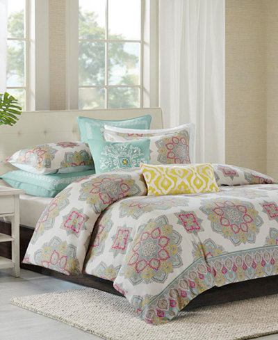 CLOSEOUT! Echo Indira Red Bedding Collection