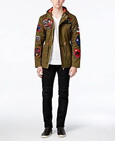 Men's Badge Jacket & Moto Jeans