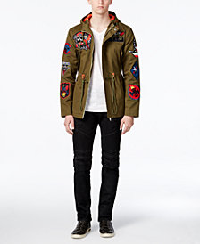 Reason Men's Badge Jacket & Moto Jeans