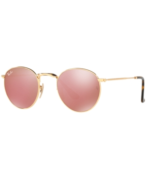 Image of Ray-Ban Sunglasses, RB3447N Round Flat Lenses