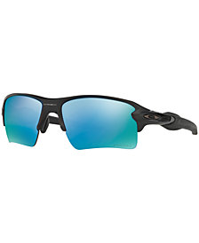 Oakley Polarized XL Prizm Deep Water Sunglasses, OO9188 Flak 2.0