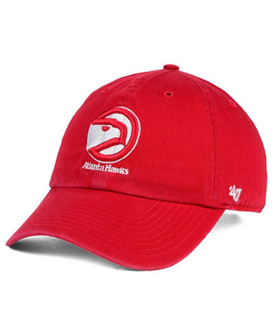 '47 Brand Atlanta Hawks Hardwood Classics Clean Up Cap