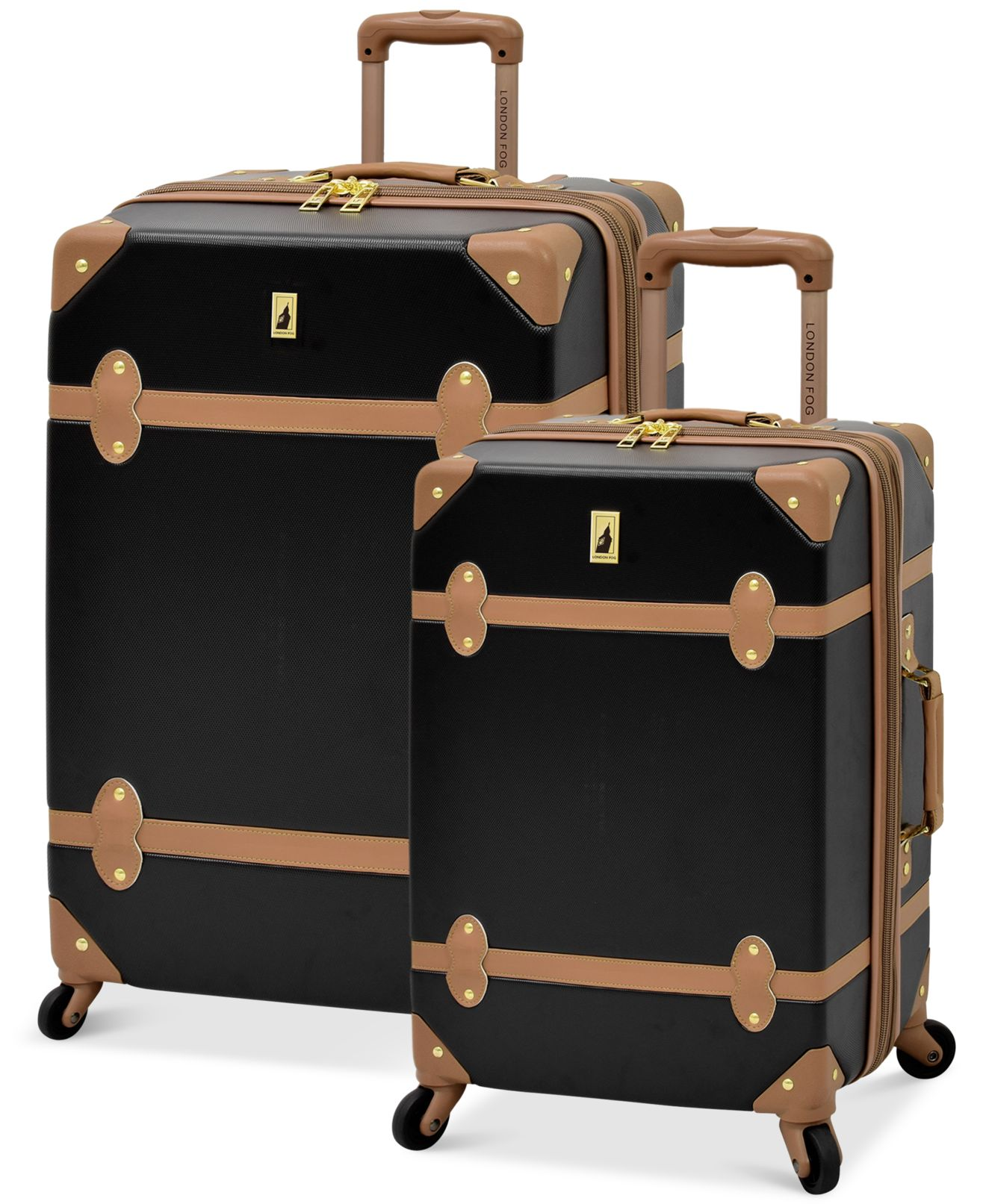 London Fog Retro Hardside Spinner Luggage - Luggage Collections ...