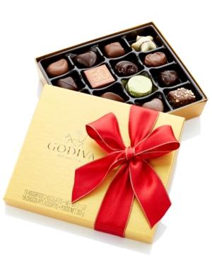 Godiva Chocolatier, 19-Pc. Red Ribbon Ballotin Box of Chocolates