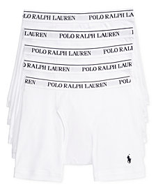 Polo Ralph Lauren Men's 5 Pack Boxer Briefs