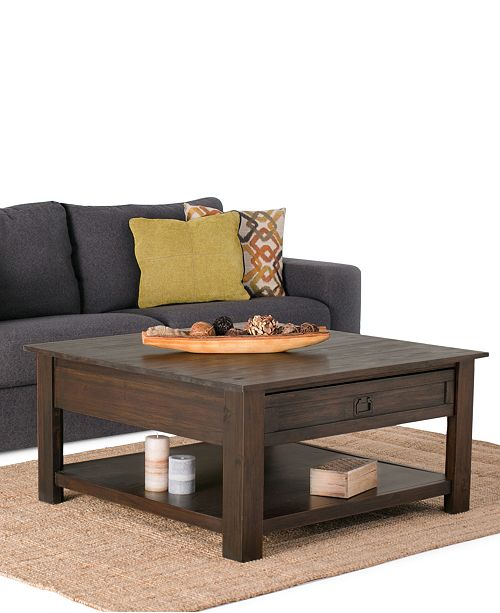 Cool Oswen Square Coffee Table Quick Ship Andrewgaddart Wooden Chair Designs For Living Room Andrewgaddartcom