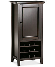 Canton High Storage Wine Rack, Quick Ship
