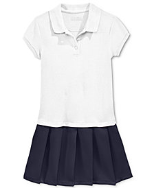 Nautica School Uniform Pleated Polo Dress, Little Girls (4-6X)