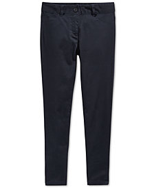 Nautica School Uniform Sateen Pants, Big Girls