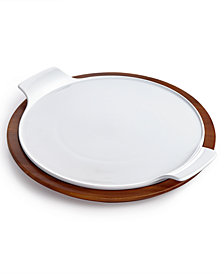 The Cellar Acacia Wood Pizza Stone, Created for Macy's