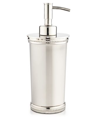 ... Bathroom Accessories. CLOSEOUT! Martha Stewart Collection Beaded Metal  Lotion Dispenser, Created For Macyu0027s