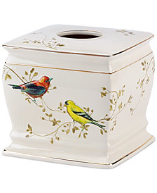 Avanti Bath Accessories, Gilded Birds Tissue Holder