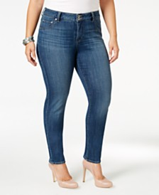 Lucky Brand Plus Size Emma Straight-Leg Jeans