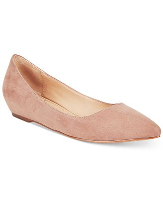 American Rag Emani Almond-Toe Flats, Only at
