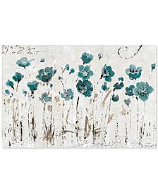 'Abstract Balance VI Blue' by Lisa Audit Canvas Print