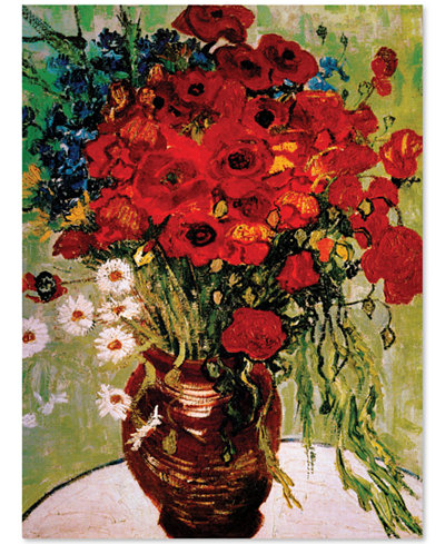 'Daisies & Poppies' by Vincent van Gogh 24