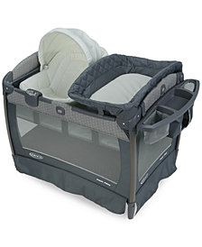 Graco Baby Pack 'n Play Playard Newborn Napper Oasis with Soothe Surround Technology