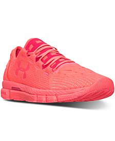 Under Armour Women's Speedform Slingshot Neon Running Sneakers from Finish Line