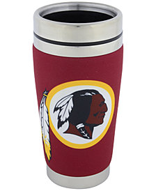 Hunter Manufacturing Washington Redskins 16oz Stainless Steel Travel Tumbler