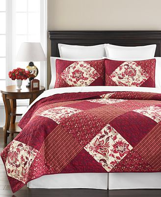 CLOSEOUT! Martha Stewart Collection Somerset Square Quilts ... : quilts at macys - Adamdwight.com