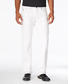 True Religion Men's Geno Slim-Fit Optic White Jeans