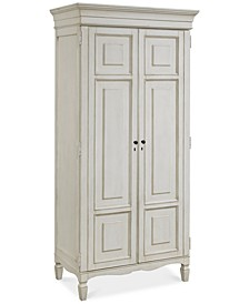 Sag Harbor White Tall Cabinet
