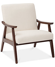 Zeena Accent Chair, Quick Ship