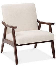 Zeena Accent Chair, Quick Ship