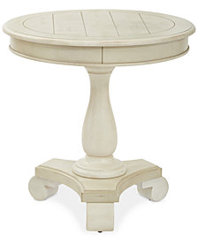 Wenda Round Accent Table, Quick Ship