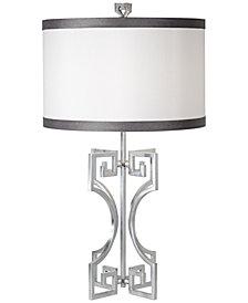 Pacific Coast Phila Silver Leaf Table Lamp