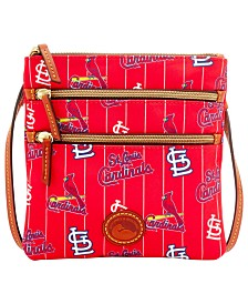 Dooney & Bourke Nylon Triple Zip Crossbody Bag MLB Collection