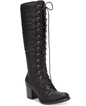 American Rag Lorah Lace-Up Boots, Created for Macy